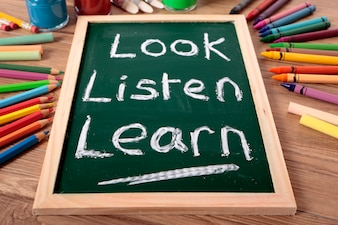 Olha, escuta, aprende