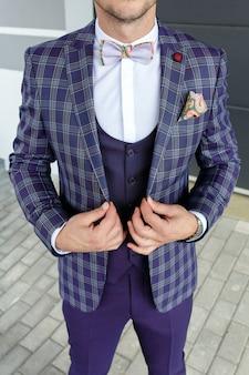 Olhar de moda, os homens olham