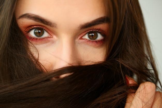 Olhos de uma mulher negra
