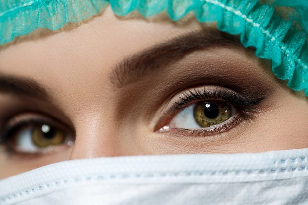 Olhos dos médicos