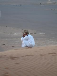 Omani povo do deserto, safari
