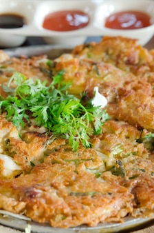 Omlet e molho