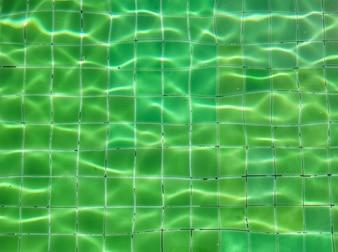 Onda de água na piscina.