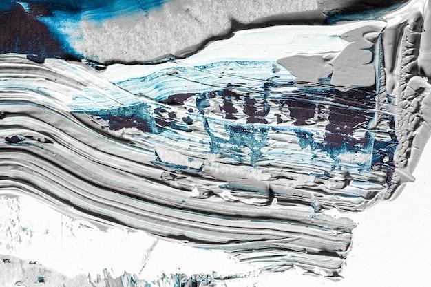 Onda do mar. creme pintura texturizada em fundo transparente, arte abstrata. papel de parede para dispositivo, copyspace para publicidade. o produto artístico do artista, bicolor. inspiração, ocupação criativa.