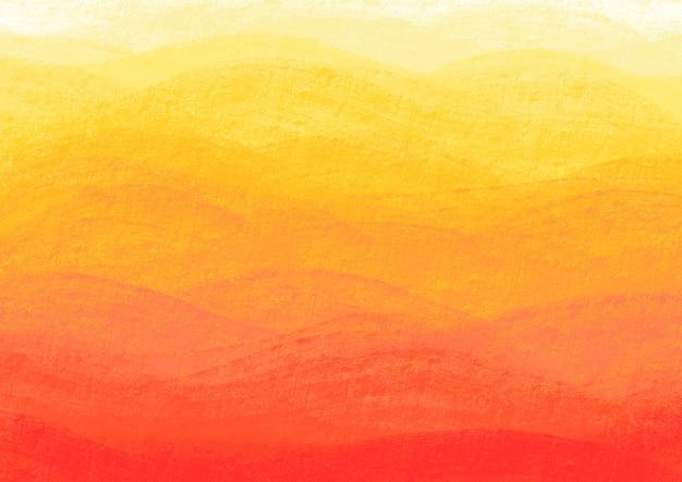 Ondas de laranja em uma parede