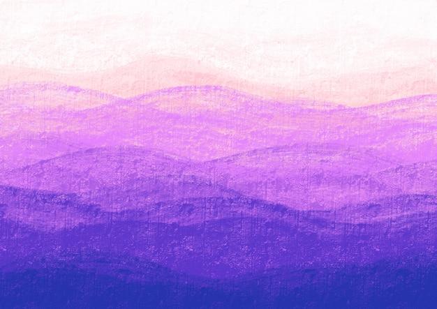 Ondas roxas em uma parede