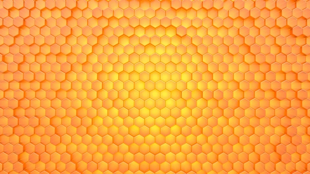 Oneycomb textura de fundo.