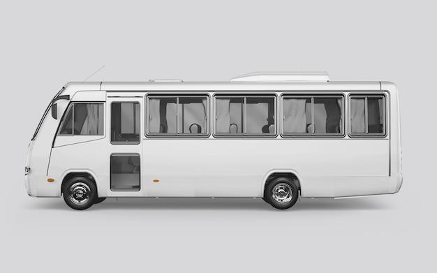 Ônibus em branco