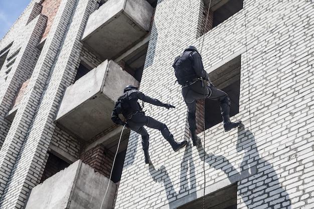 Operação de assalto swat