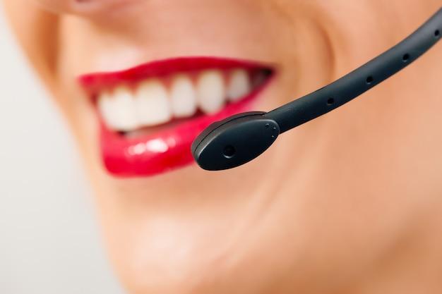 Operador de call center