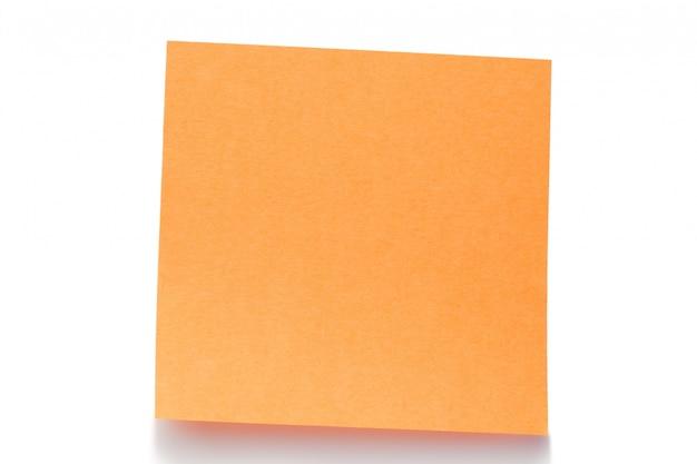 Orange post-it