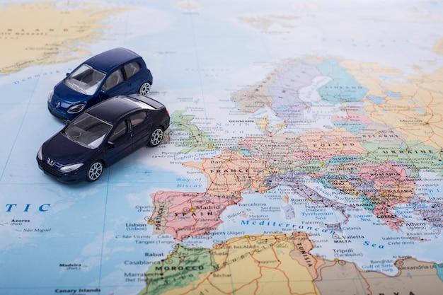 Orçamento de carro para viagens na europa