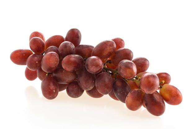 Orgânico fresco fundo uvas naturais
