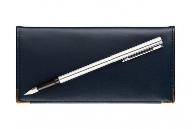 Organizador e caneta-tinteiro
