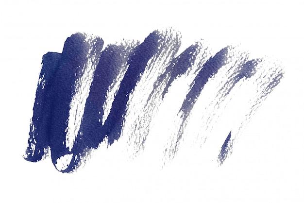 Origens de aquarela azuis escuras, pintura de mão em papel