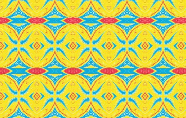 Ornamento colorido para design têxtil e fundos abstrato para design têxtil