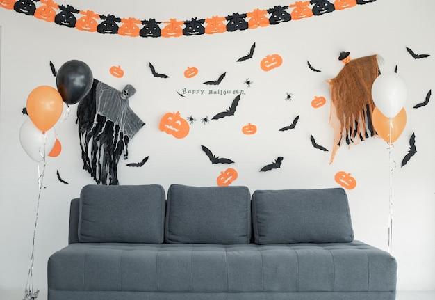 Ornamento de suspensão, cenas no festival de halloween.