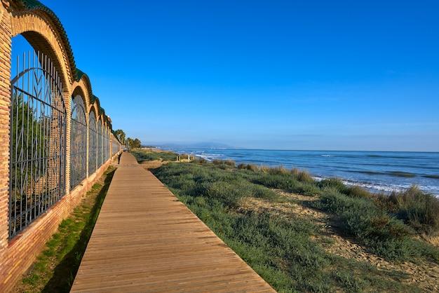 Oropesa de mar praia em castellon espanha