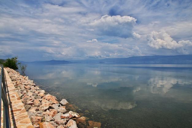 Orquídea do lago na macedônia, baslkans