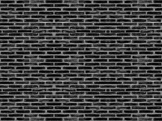 Os blocos velhos resistidos do tijolo do cimento do preto escuro empilham o fundo da superfície da textura da parede. para alguma arte finala do vintage