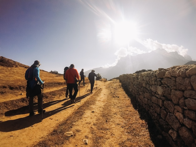 Os himalaias são as montanhas mais altas da terra