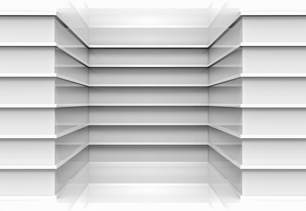 Os painéis cinzentos paralelos modernos projetam o fundo de canto da parede.