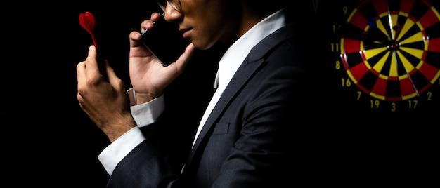 Os planos de negócios e a estratégia de gerenciamento atingem a meta