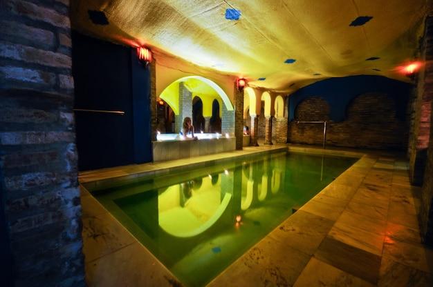 Os tratamentos de beleza nos banhos árabes