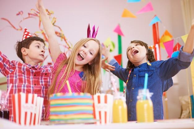 Ótima festa no nono aniversário