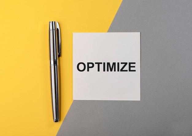Otimize o conceito de otimização de custos de palavras