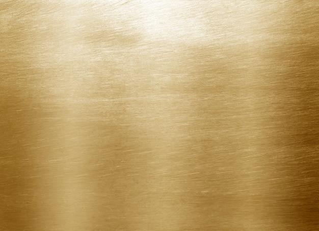 Ouro amarelo brilhante da folha