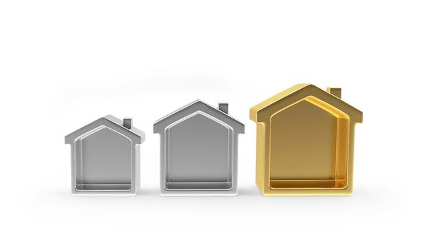 Ouro e prata abrigam ícones de vários tamanhos