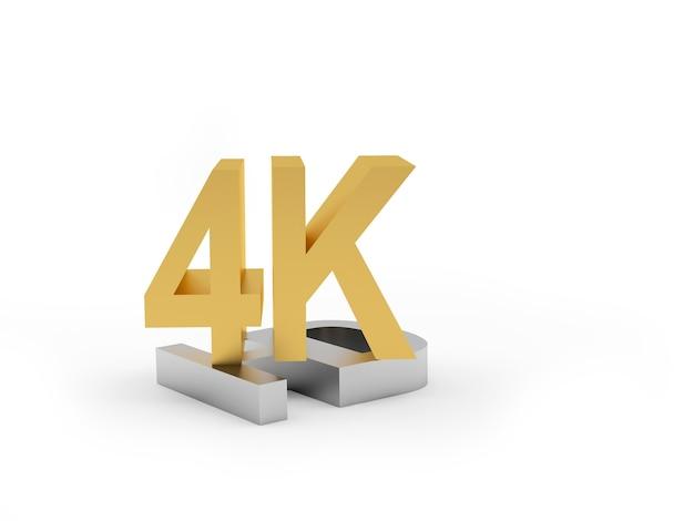 Ouro e prata hd 4k ícone 3d