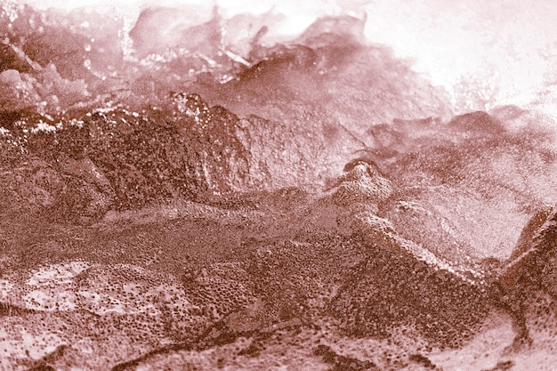Ouro rosa abstrato com textura irregular