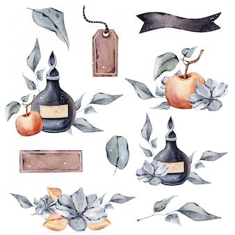 Outono coleção de halloween