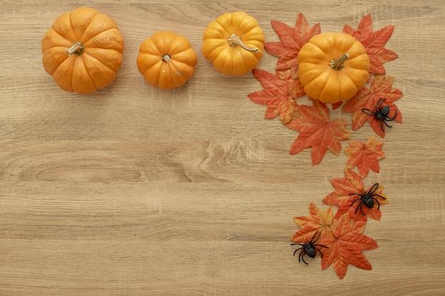 Outono de ação de graças de abóbora