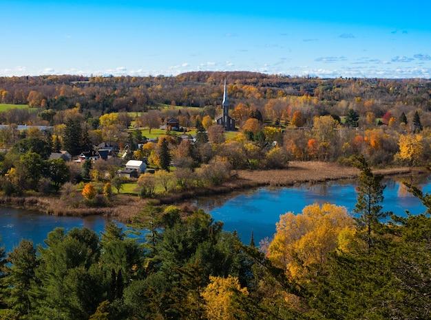 Outono no vale de ottawa