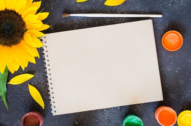 Outono plano leigo para cartão ou suas notificações.