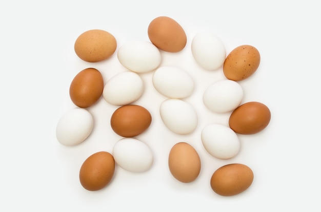 Ovos brancos