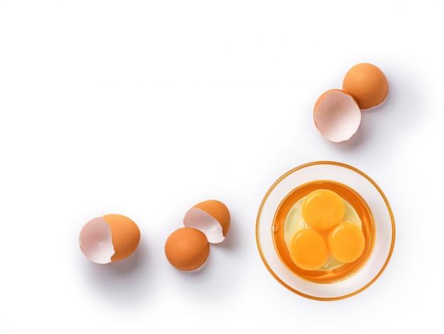 Ovos de galinha orgânicos