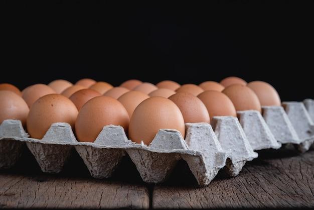 Ovos estão no painel