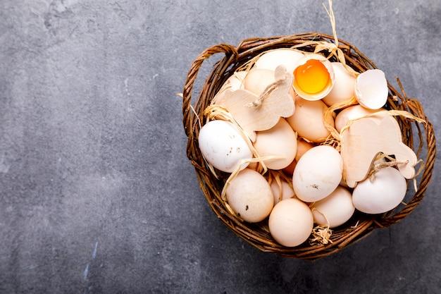 Ovos frango caseiro