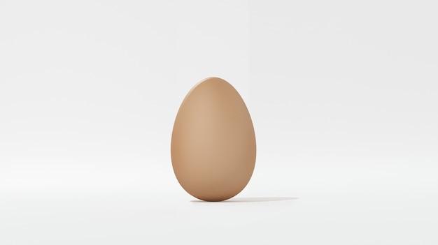 Ovos no fundo branco