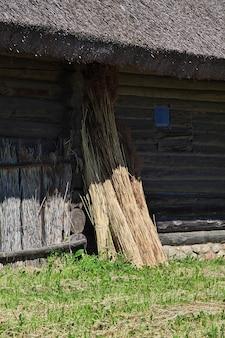 Ozertso village no país da bielorrússia