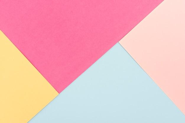 Pacote de folhas de papel pastel