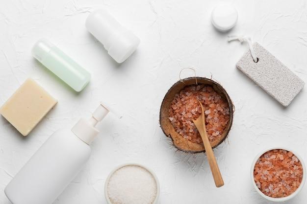 Pacote de higiene de produtos naturais
