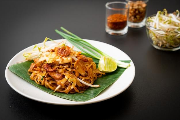 Pad thai - macarrão de arroz frito