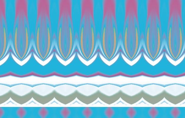 Padrão abstrato colorido para têxteis e design padrão de cores completas com padrão geométrico abstrato