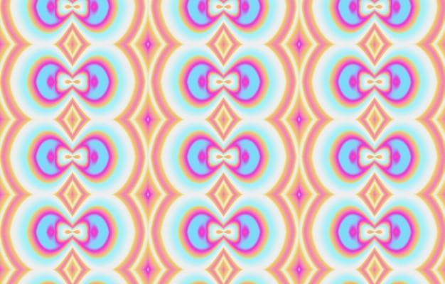 Padrão artístico colorido para têxteis, azulejos de cerâmica e fundos. abstrato moderno.