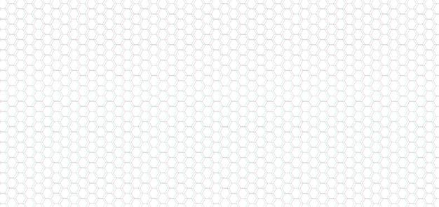Padrão celular geométrico monocromático abstrato monocromático grade de hexágonos